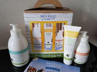 MooGoo skin smoothing set