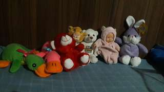 Toys and stufftoys for bebe girls