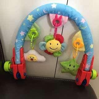 Brand New Cute Toys Baby Travel Play Arch Activity Bar for Stroller Pram Crib