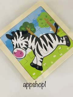 Zebra puzzle - animal theme party goodies bag, goody bag packages