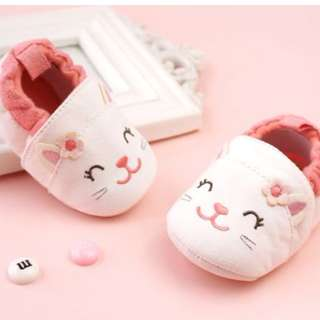 Fluffy Baby Shoes (Kitty)