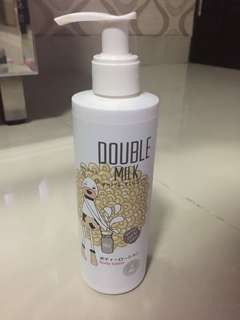 Double milk lotion