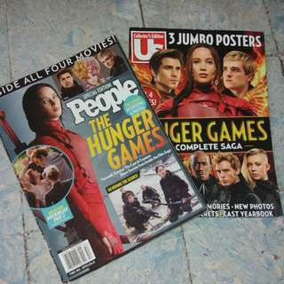 Bundle - Hunger Games Special Edition Magazines