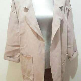 Trech Coat Pink
