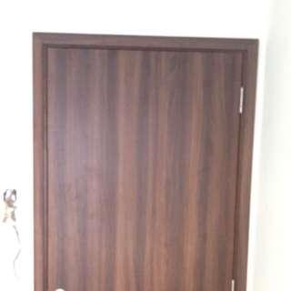 Acoustic sound proof door