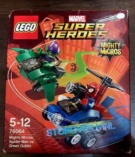 LEGO Super Heroes Mighty Micro: Spider-Man VS Green Goblin