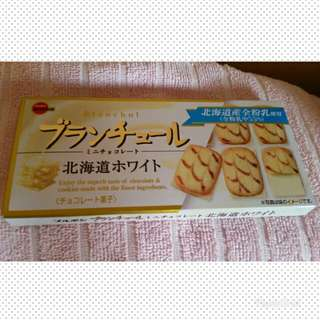 Bourbon White Chocolate from Japan