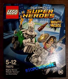 LEGO Super Heroes Mighty Micros: Wonder Woman Vs. Doomsday