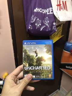 PS Vita - Uncharted Golden Abyss ( Can Swap )