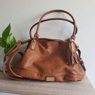 Colette tan hand bag