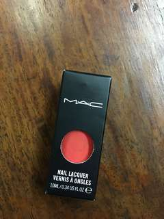 "MAC nail lacquer vernis a ongles (nailpolish in ""IMPASSIONED"")"