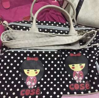 Cose' two way bag w/ pouch