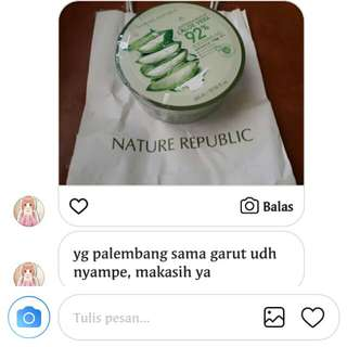 OPEN JSTIP TERMURAH Nature republic aloevera