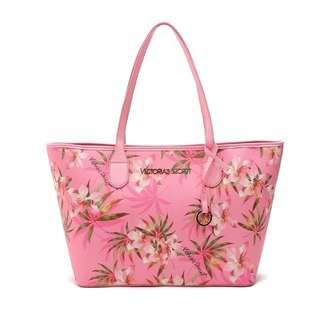 Victoria's Secret Flower Tote Bag