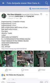 Engine kosong 4g15