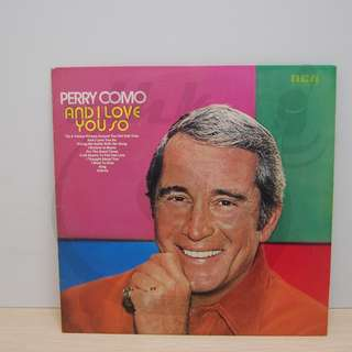 黑膠唱片LP, Perry Como, And I Love You So