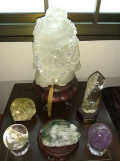 Citrine Crystal,jade,stone ,etc
