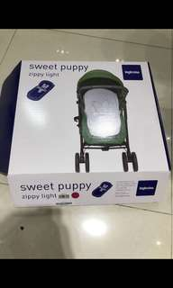 Inglesina sweet puppy front view convertor