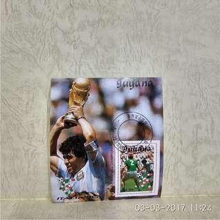 guyana stamp-souvenir sheet