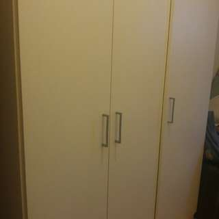 Ikea wardrobe, chest, sofa bed, table availble for free
