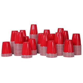 Kirkland Red party cups