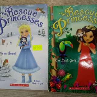 The Rescue Princess: The Snow Jewel & The Lost Gold