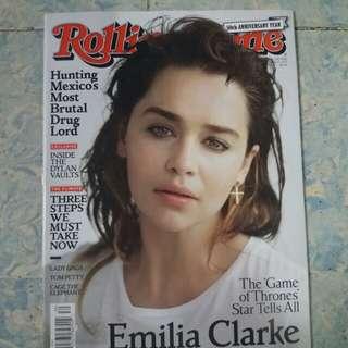Emilia Clarke | Rollingstone Magazine