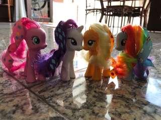 My Little Pony -set of 4 ponies