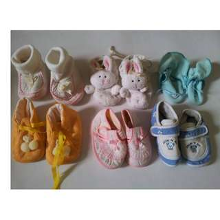 Baby shoes, Bib, Baby Hat, Baby Blanket