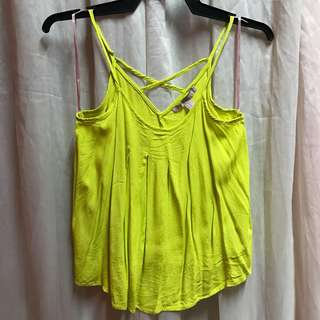 FOREVER21 neon top