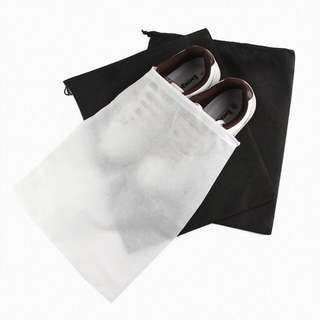 27*35cm Non Woven Shoes Dust Bags Drawstring Storage Jewellery Accessories Bag