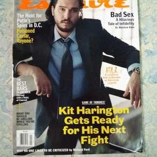 Kit Harington   Esquire USA June/July 2017
