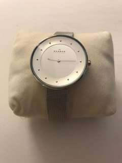 Brand New and Authentic Skagen Dress Watch in Silver