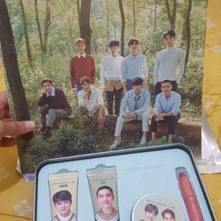 Nature Republic Set x EXO with Magazine Limited Edition