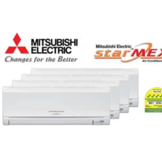 Mitsubishi 5 Ticks System 3 Air Conditioner!