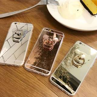 ★Iphone 8/8+/7/7+ case cover with bear stent