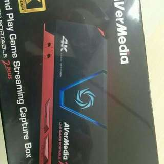 AverMedia Portable Livr Gamer 2 Plus, 4K Pass through [BNIB]