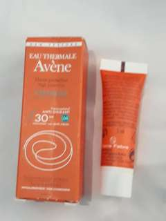 AVENE cleanance solaire sunscreen travel size