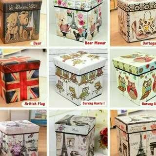 Storage box / Storage Stool /Box Penyimpanan