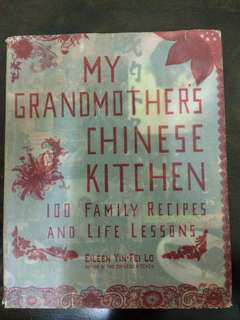 My grandmother chinese kitchen hardcover
