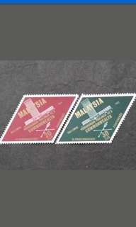 Malaysia 1963 9th Commonwealth Parliamentary Conference Complete Set - 2v MNH Stamps