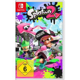NEW Authentic Nintendo Switch Splatoon 2 Version Game CD Handheld Console Gaming