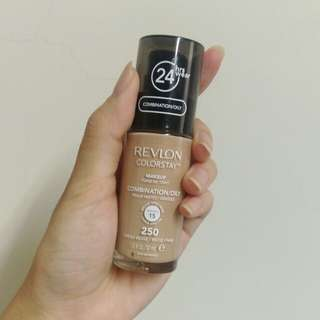 (降價囉!)露華濃 超持色粉底液 Revlon colorstay 色號250