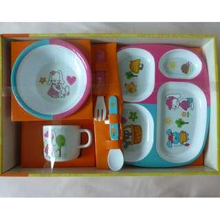 BNIB 5 Piece Children Cutlery Gift Set