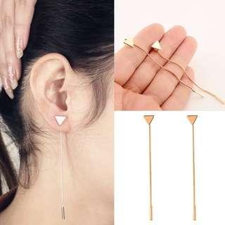 Triangle Korean Fashion Dangle Earrings