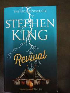 Revival novel by Stephen King