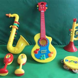 Bruin Musical Instrument Play Set