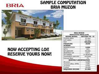 affordable pre selling house and lot for sale in san jose bulacan