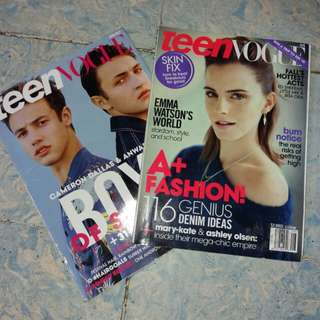 Bundle - Teen Vogue Magazines