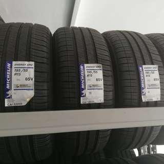 195/55R15 Michelin XM2